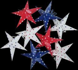 Christmas Decorative Stars Set