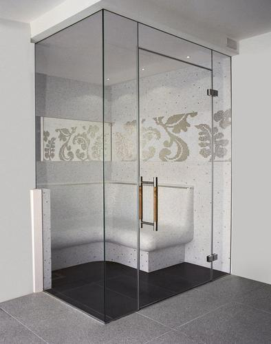 Artificial Waterfalls Glass Water Curtains Service