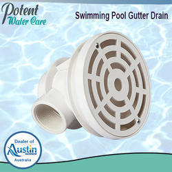 Swimming Pool Gutter Drain