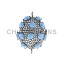 Diamond Gemstone Connector Lock