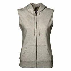 Womens Sleeveless Sweatshirts