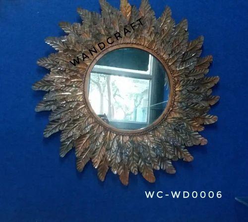 Metal Wall Art - Mirror Decorative Items Manufacturer from Moradabad