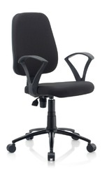 Threeline Black Chair