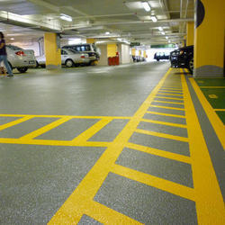 Anti Skid Epoxy Flooring for Car Parking