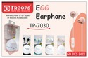 EGG EARPHONE DO 1