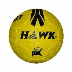 Rubberized Hawk Street Yellow Soccer Ball