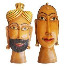 Wooden Kaka Kaki Face Mask