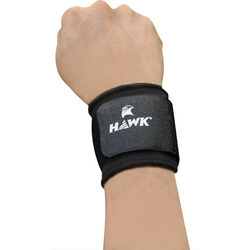 Wrist Support Adjustable Size, Made Of Breathable Neoprene Quality Material, Black