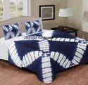 Shibori Print Double Bedsheet