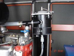 Engine Oil Cleaning System