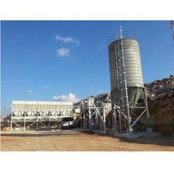 Fully Transportable Dry Mix Concrete Batch Plant