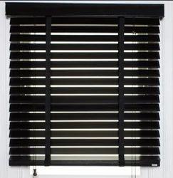 Black Window Blinds