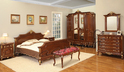 Aarsun Teak Wood Bedroom Set
