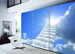 Wardrobes Illusion Glass Printing