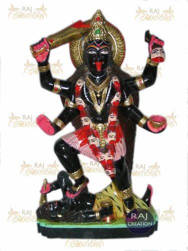 Marble Kali Mata Statue Marble Kali Mata Idol Exporter