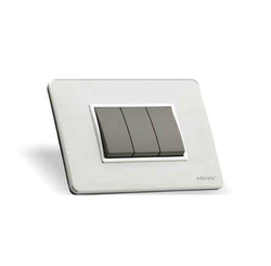 Alumet Plates Modular Switches