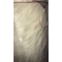 Plain White Faux Fur Fabric, Application : Clothing
