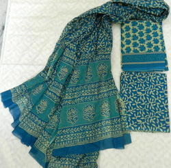 Aaditri Clothing Hand Painted Dress Material