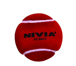 Nivia Cricket Heavy Weight Tennis Ball