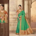 Fancy Indian Silk Saree With Work