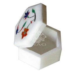 Marble Pill Box