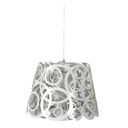 Jainsons Emporio White Abstract Design Pendant Light
