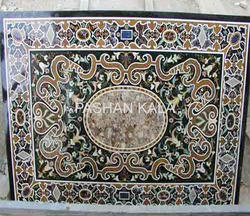 Marble Pietra Dura Dining Table Top