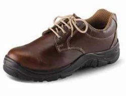 Udyogi Edge Brown Safety Shoes