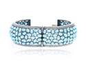 Diamond Gemstone Bangle Jewelry