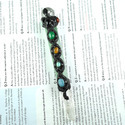 Multi Color Precious Gemstone Crystal Electroplated Wands