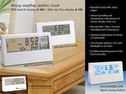 Sharp Weather Clock