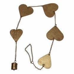 Iron Heart Bell Hanging