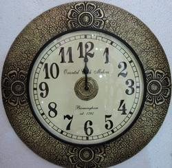 Wooden Brass Fitted Clocks
