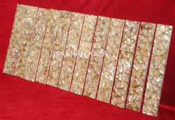Brown Mother of Pearl Strip