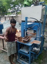 MAUAL Paver & CONCRETE  Block Making Machine