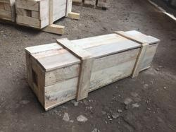 Small Machine Parts Rubber Wood Boxes