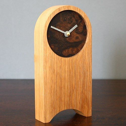 Wooden Desktop Clock