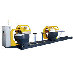 JIH-T5 Automatic Double Head Tilting & Rotary Sawing Machine