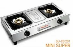 Double Burner Gas Stove SU 2B-201 Mini Super