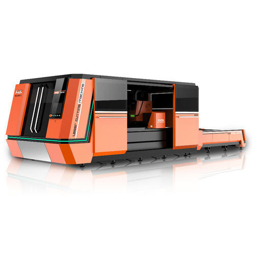 Full-Protection and High-Speed Fiber Laser Cutting Machine
