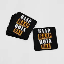 MDF Coaster Set / Printed Tea Cup Coasters