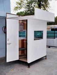 PVC Security Cabin