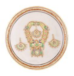 Jadau Necklace Painting