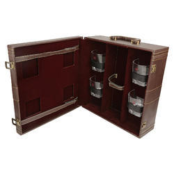 Brown - 04 Travel Bar Set