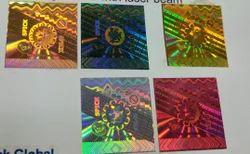 Holographic Custom Design Hologram Labels Stickers