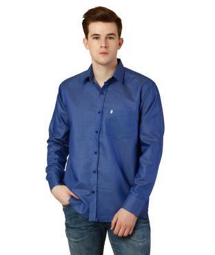 863164a50 Oxolloxo Men Blue Shirt   Celio Shirt Ecommerce Shop   Online ...