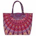 Mandala Cotton Printed Handbag