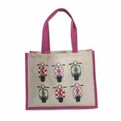 Juteberry Jute Shopping Bag Pink