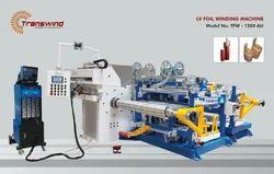 Distribution Transformer Foil Winding Machine