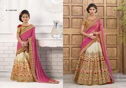 Mother & Daughter Bridal Gown and Lahenga Choli